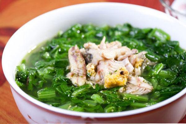 Canh cá rô đồng cho bữa ăn thêm ấm áp