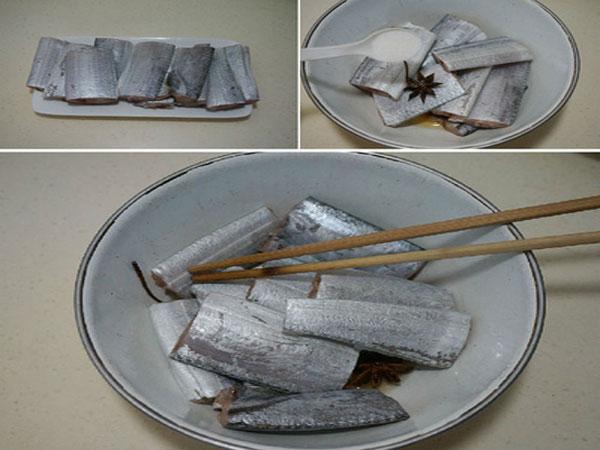 Nguyên liệu cho món cá kho cay