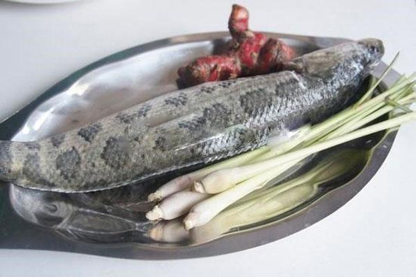 Nguyên liệu cho món cá kho