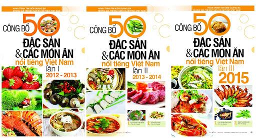Công bố 50 đặc sản và các món ăn nổi tiếng Việt Nam